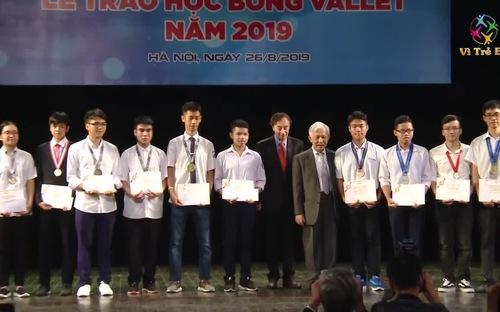 Lễ trao học bổng Vallet lần thứ 19