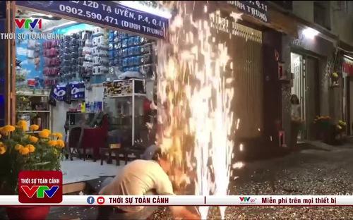 Bộ Công An thông tin về việc người dân được đốt pháo hoa
