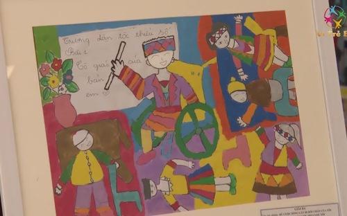 """Lễ tổng kết trao giải cuộc thi vẽ tranh """"ước mơ vượt khó"""" về trẻ em khuyết tật"""