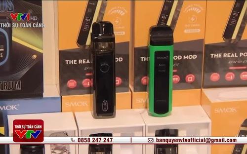 Cấm triệt để thuốc lá điện tử hay vẫn cho bán và quản lý chặt chẽ?