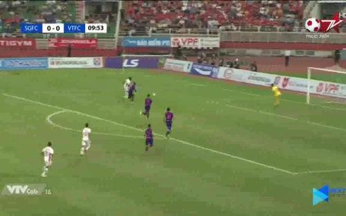 Highlights và bàn thắng Sài Gòn FC 0-1 Viettel: Viettel đăng quang V League 2020