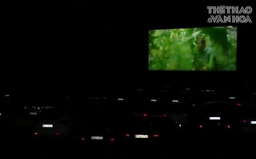 Dịch Covid-19 bùng phát khiến trào lưu xem phim ngoài trời sống lại