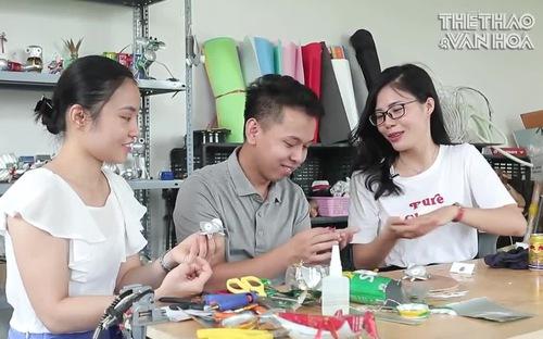 Make in Vietnam: Chàng trai 9x chế tạo đồ chơi từ rác thải