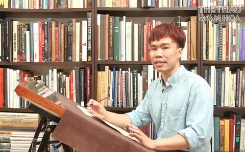Đào Huy Hoàng: Chàng trai 9x say mê bộ môn nghệ thuật Calligraphy