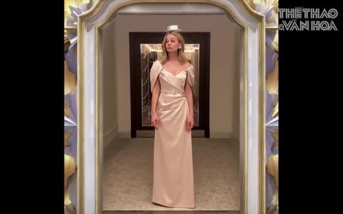 Màn khoe váy áo của sao trên thảm đỏ Quả cầu Vàng giữa đại dịch