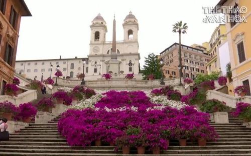 Cầu thang Tây Ban Nha - Công trình nổi tiếng của Italy