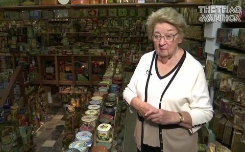 Bộ sưu tập 60.000 hộp thiếc của cụ bà người Bỉ