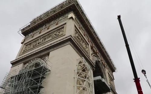 Khải Hoàn Môn của Pháp mang diện mạo mới