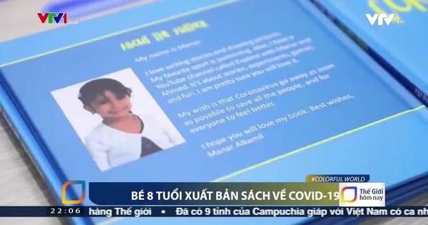 Bé gái 8 tuổi xuất bản sách về dịch COVID-19 - Video đã phát trên VTV |  VTV.VN