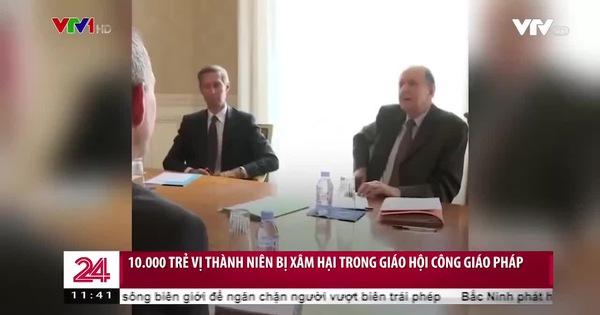 10.000 trẻ vị thành niên bị xâm hại trong Giáo hội công giáo Pháp - Video đã phát trên VTV | VTV.VN