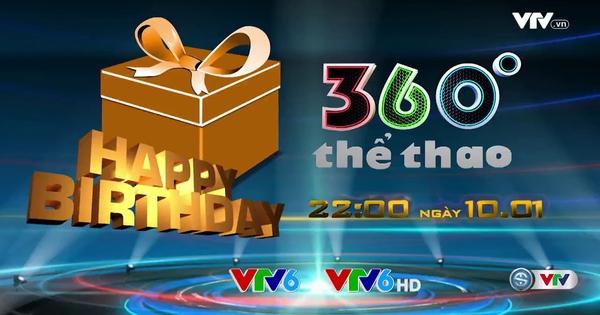 Trailer bản tin 360 độ thể thao đặc biệt ngày 10/1/2017 - Video đã phát  trên VTV-ONLINE | VTV.VN