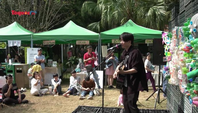 Thỏa sức sống xanh, sống sạch tại Khoe Creative Festival