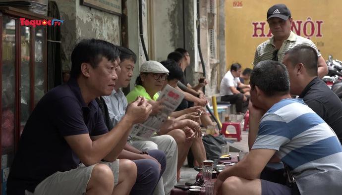Cafe vỉa hè - Nét văn hóa đậm chất Hà Nội