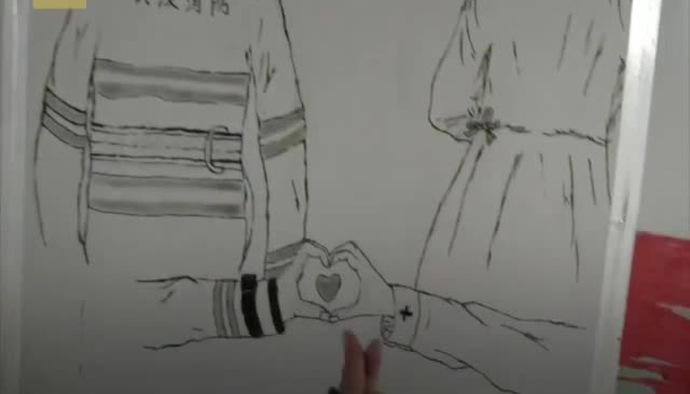 Những bức tranh tường khích lệ tinh thần làm việc chống dịch bệnh tại Vũ Hán