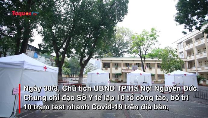 Hà Nội triển khai các điểm test Covid-19 miễn phí