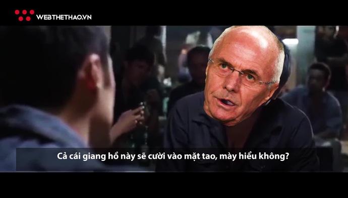 """Video siêu hài: Đại chiến """"Sơn già"""" và """"Bắc hói"""" tại Mỹ Đình"""