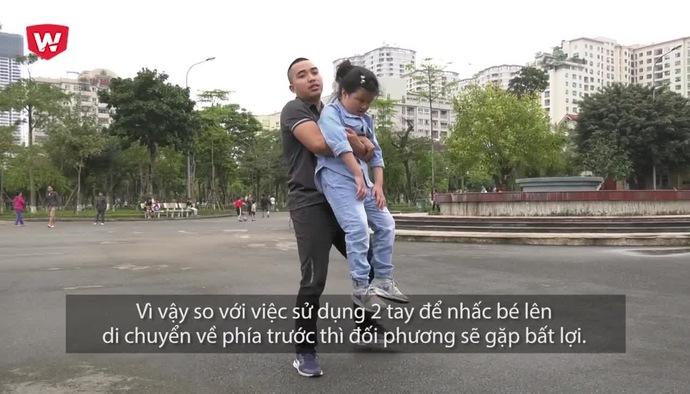Hướng dẫn võ tự vệ số 4: Cách trẻ tự vệ khi bị bịt miệng từ phía sau