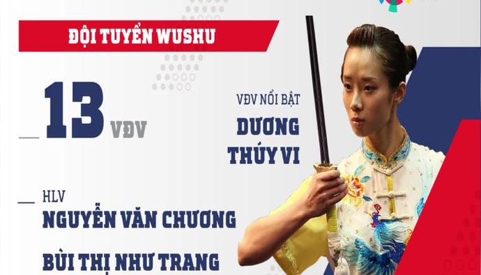 Profile ĐT Wushu Việt Nam tham dự ASIAD 2018