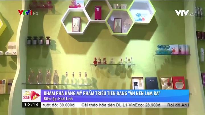Triều Tiên phát triển ngành sản xuất mỹ phẩm