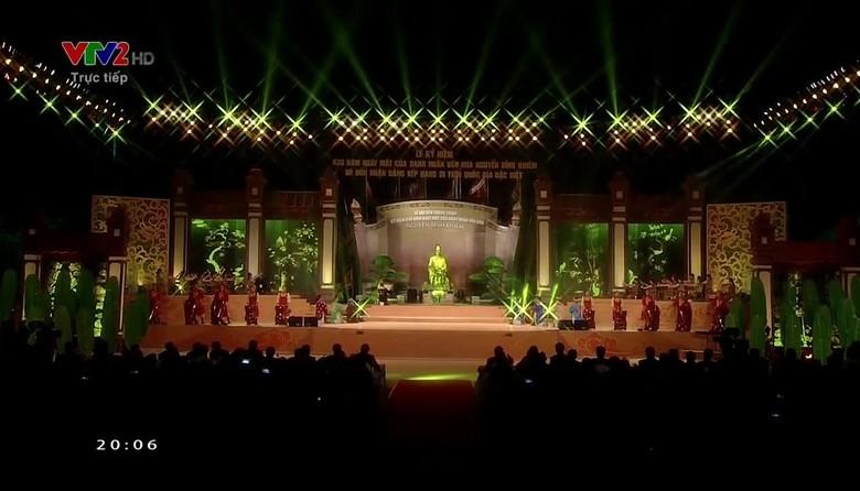 Lễ kỷ niệm 430 năm ngày mất danh nhân Nguyễn Bỉnh Khiêm - Phần 1
