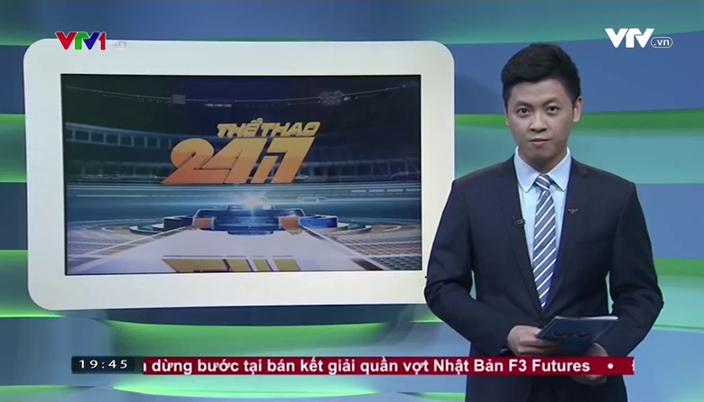 Thể thao 24/7 - 24/3/2017