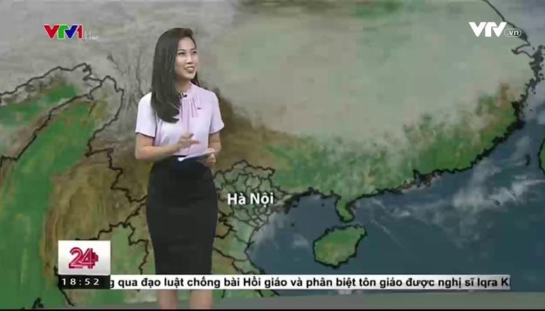 Bản tin thời tiết 18h30 - 24/3/2017