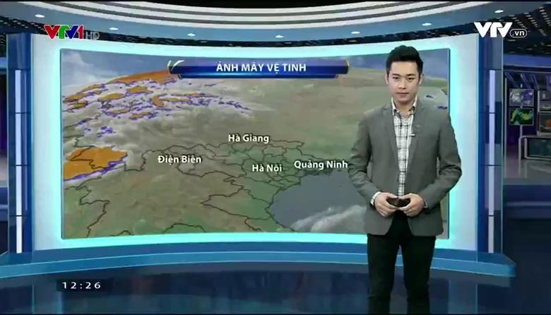 Bản tin thời tiết 12h30 - 29/3/2017