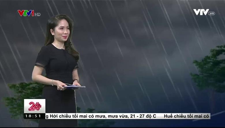 Bản tin thời tiết 18h30 - 30/3/2017