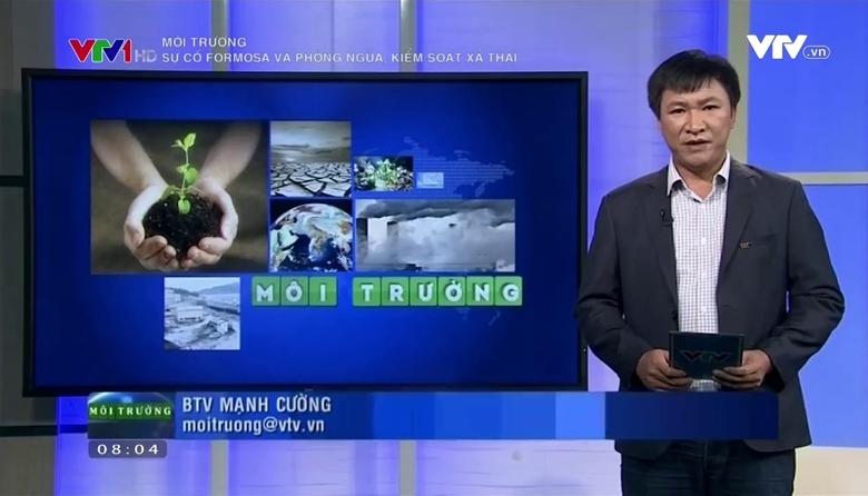 Môi trường: Sự cố Formosa và phòng ngừa, kiểm soát xả thải