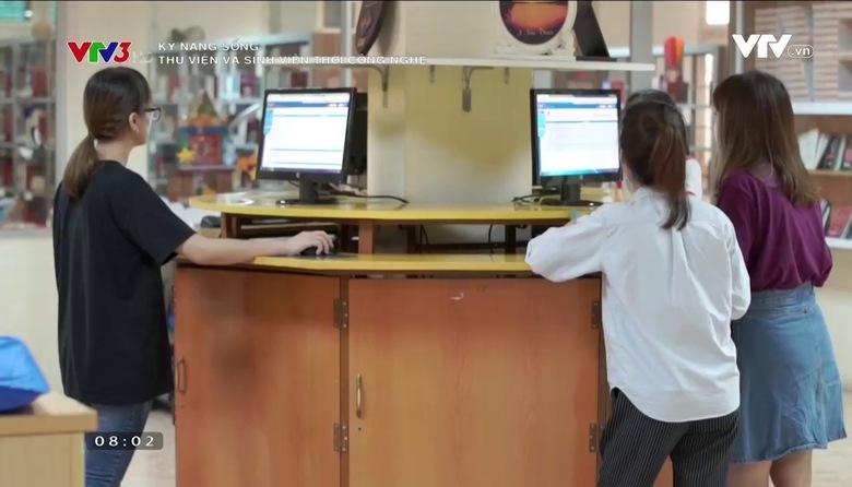 Kỹ năng sống: Thư viện và sinh viên thời công nghệ