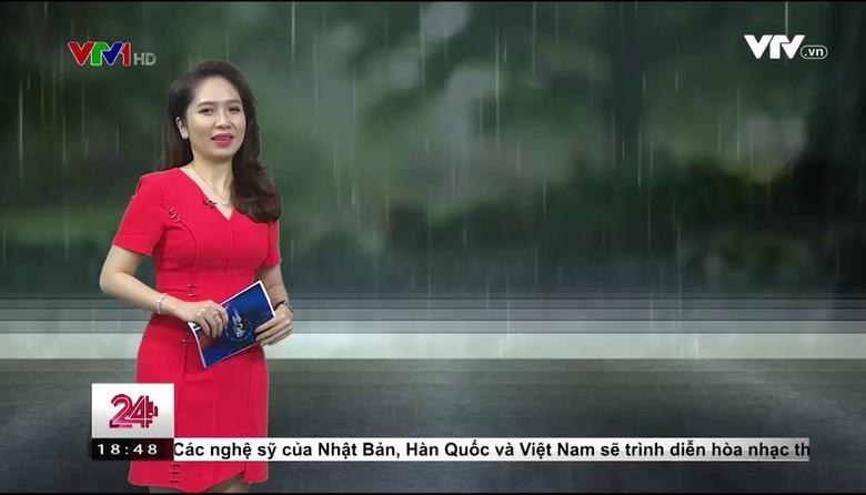 Bản tin thời tiết 18h45 - 23/5/2017