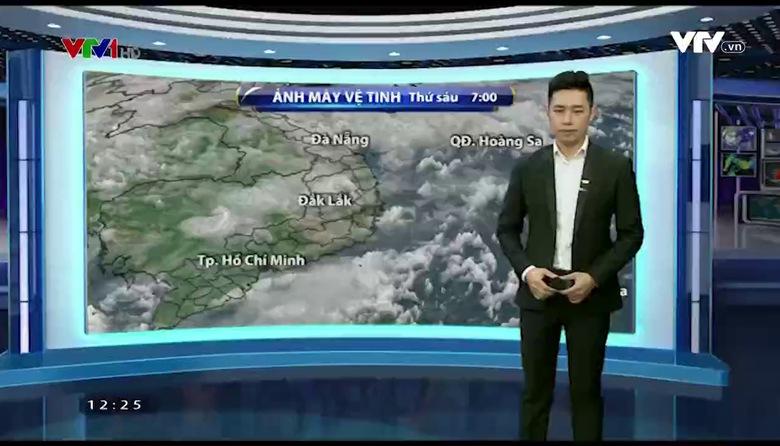 Bản tin thời tiết 12h30 - 26/5/2017