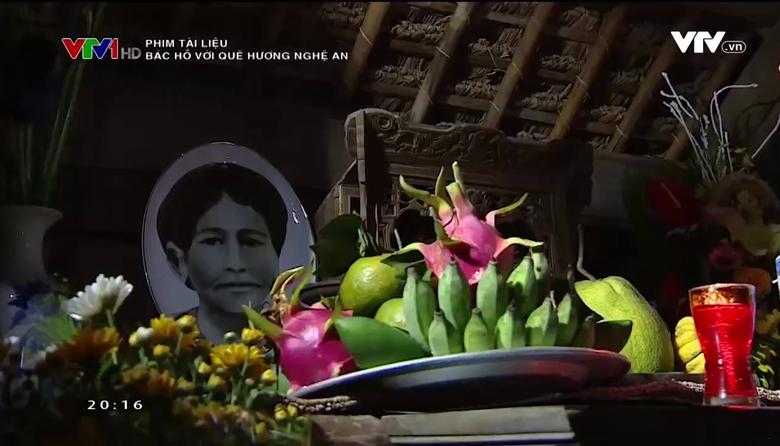 Phim tài liệu: Bác Hồ với quê hương Nghệ An