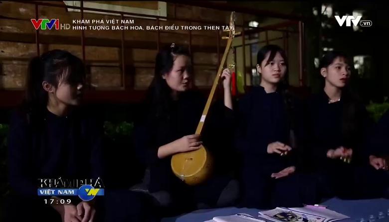 Khám phá Việt Nam: Hình tượng bách hoa, bách điểu trong Then Tày