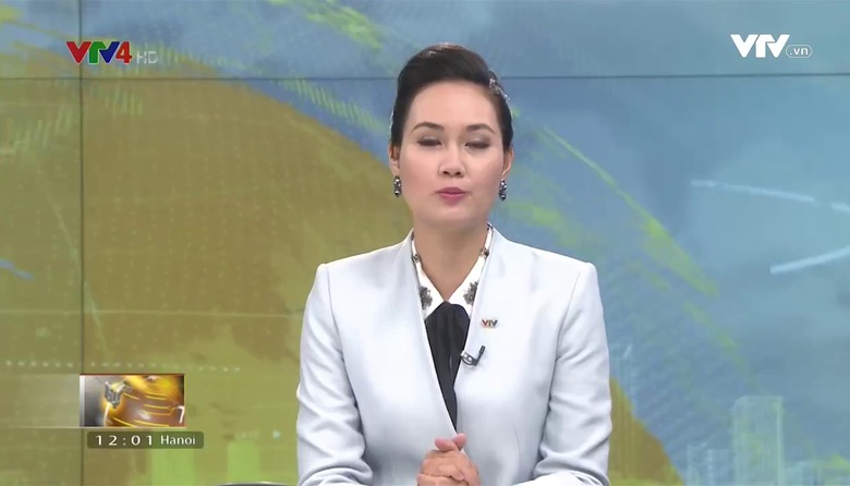 Bản tin tiếng Việt 12h  VTV4 - 13/8/2017