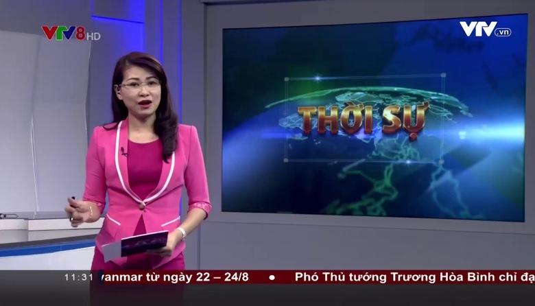Bản tin 11h30 VTV8 - 18/8/2017