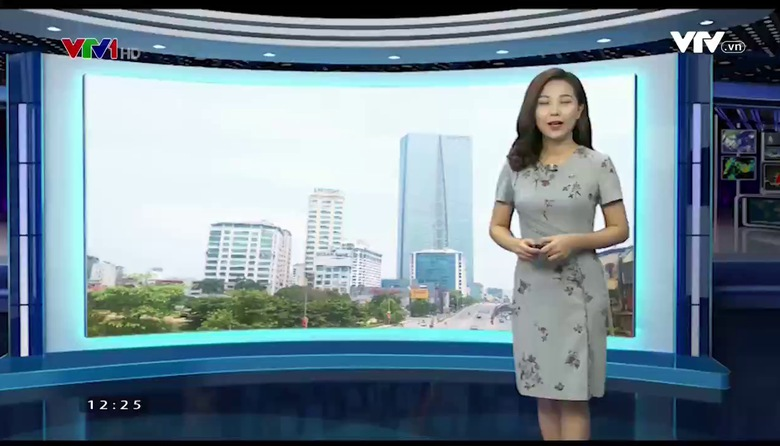 Bản tin thời tiết 12h30 - 21/8/2017