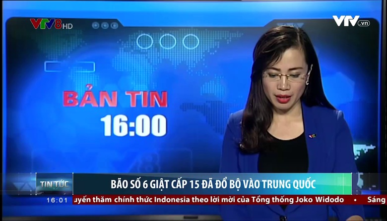 Bản tin 16h VTV8 - 23/8/2017