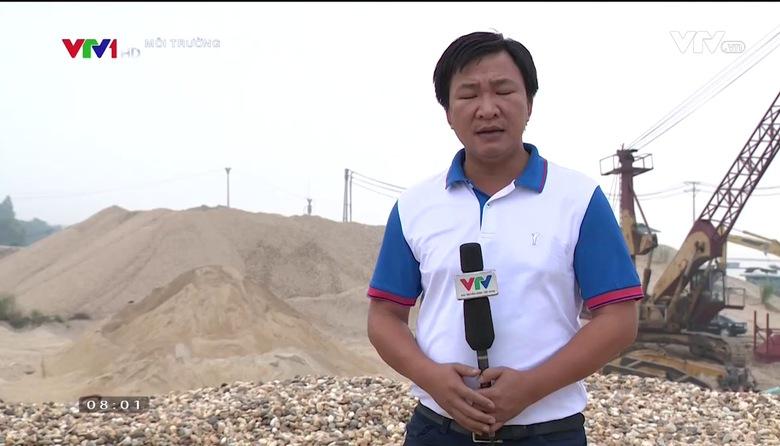 Môi trường: Khai thác và sử dụng hợp lý tài nguyên cát