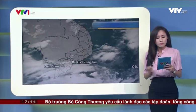 Bản tin thời tiết 18h - 23/9/2017
