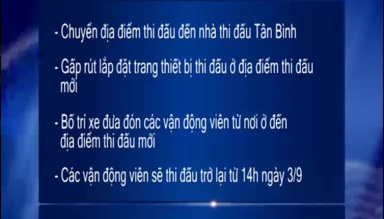 Thể thao 24/7 - 03/9/2014