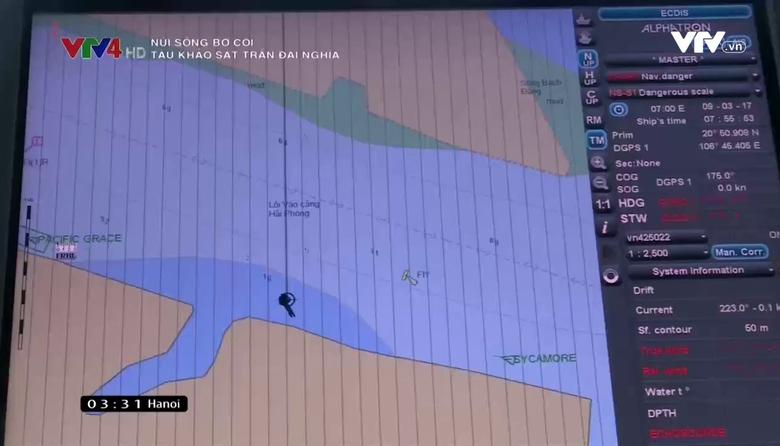 Núi sông bờ cõi: Tàu khảo sát Trần Đại Nghĩa