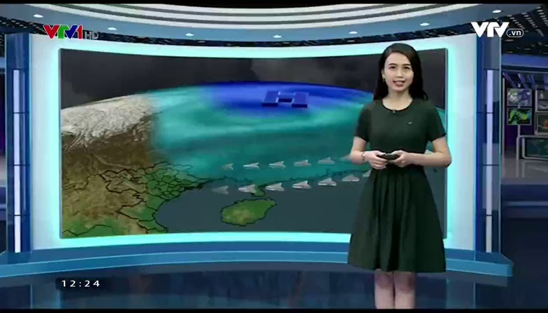 Bản tin thời tiết 12h30 - 25/3/2017