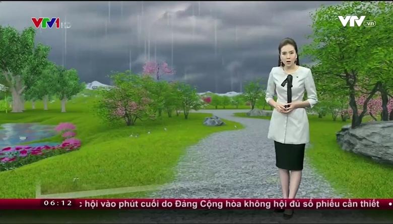 Bản tin thời tiết 6h10 - 25/3/2017