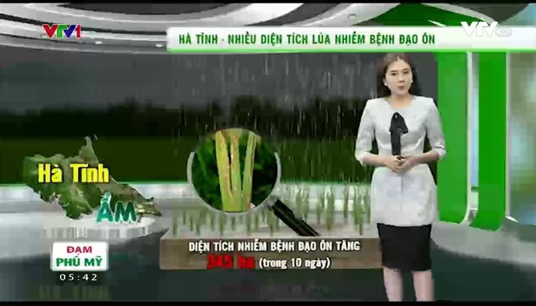 Bản tin thời tiết nông vụ - 25/3/2017