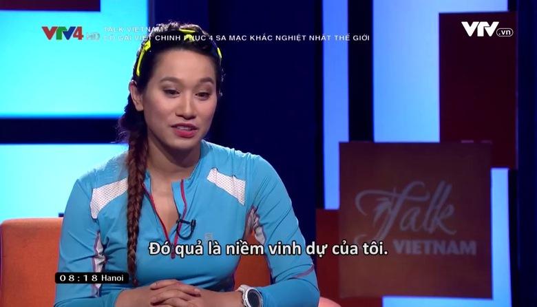 Talk Vietnam: Cô gái Việt chinh phục 4 sa mạc khắc nghiệt nhất thế giới