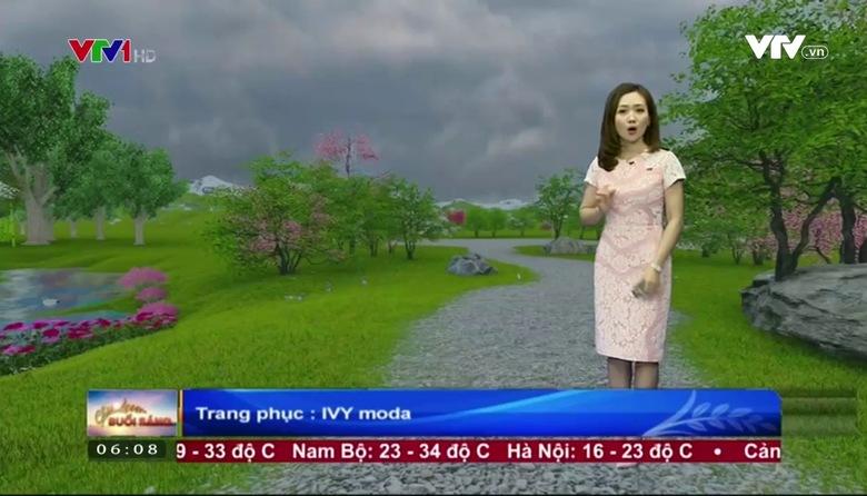 Bản tin thời tiết 6h10 - 27/3/2017