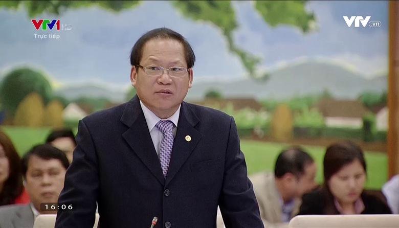Bộ trưởng Bộ TT&TT trả lời chất vấn của UBTV Quốc hội (Phần 2 - Ngày 18/4/2017)