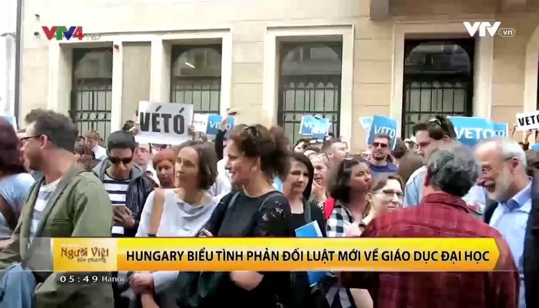 Luật Giáo dục Đại học mới tại Hungary