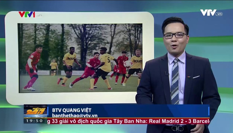 Thể thao 24/7 - 24/4/2017